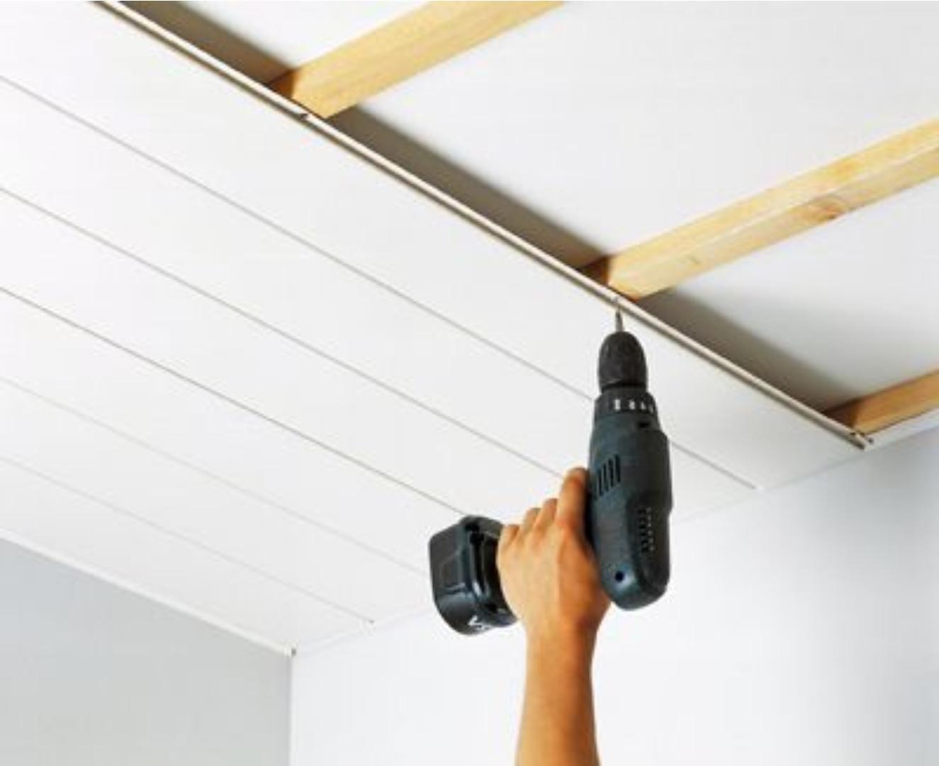 Instalaci n techos pvc bogota montaje cielo raso pvc - Como colocar pladur en techo ...